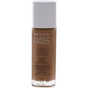 (True Beige/190) - Revlon Nearly Naked Foundation Number 190, True Beige