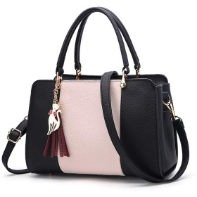 DAJOLGファッションハンドバッグ女性用、女性用トートバッグ/女性/女性用ショルダーバッグクロスボディ財布、女性用レザークラッチバッグ、女性用クロスボディバッグ,A,Largestyle