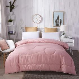 WCH 綿のキルティング、ソファーリゾートの寝室の子供部屋のための汚染のキルトへの耐久性のある抵抗 (Color : ピンク, サイズ : 200x230cm(79x91inch))