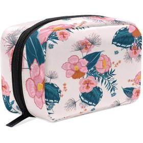 バララ (La Rose) 化粧ポーチ メイク 洗面用具入れ 大容量 軽量 おしゃれ 多機能 かわいい 花柄 和柄 コスメポーチ 小物入れ 収納バッグ 女性 雑貨 プレゼント