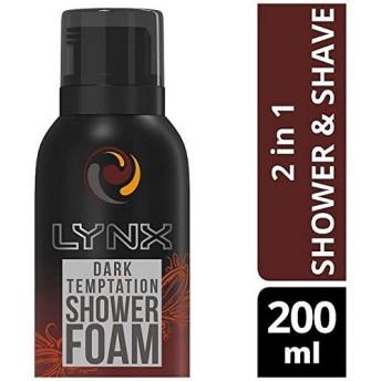 [Lynx ] オオヤマネコダーク誘惑ダークチョコレートの香りシャワー泡200ミリリットル - Lynx Dark Temptation Dark Chocolate Scent Shower Foam 200ml [並行輸入品]