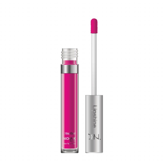 NICKA K Fruity Lip Shine - A576 Fuchsia (並行輸入品)