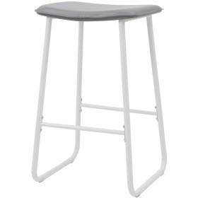 ルームアンドホーム 椅子 スツール ノルディックバー グレー 43.5×39.5×72cm