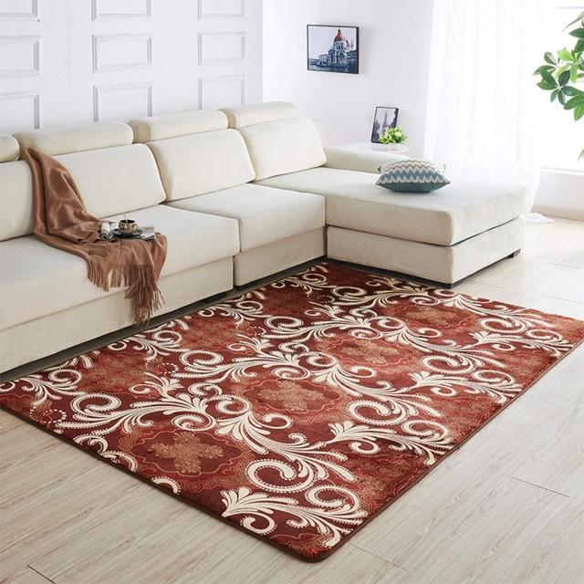 ラグマット カーペット 洗える 160×80cm 鳳尾竹 夏用ラグ 短毛 無地 じゅうたん 絨毯 ふわふわ 快適 滑り止め付 防ダニ 防音 軽量 折り畳み可能 床暖房対応 冷房対策