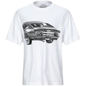 《セール開催中》CALVIN KLEIN JEANS メンズ T シャツ ホワイト XS コットン 100%