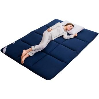厚い Tatami マットレス パッドを睡眠,通気性 ソフト日本語 床 敷布団 マットレス,高品質 ベットマット,防ダニ 折りたたみ式 ポータブルごろ寝マット -a Queen