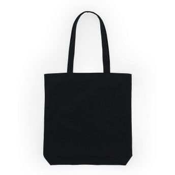 BAGGU Merch トートバッグ シンプルで簡単 キャンバストートバッグ ブラック