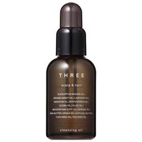 THREE スリー スキャルプ&ヘア クレンジング オイル 60mL 天然由来成分 99%【THREE Scalp & Hair Cleansing Oil】