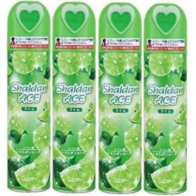 【まとめ買い】シャルダンエース トイレ用 スプレー 消臭芳香剤 ライムの香り 230mL×4個