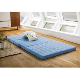 シングル(除湿・軽量・寝心地にこだわった3つ折バランス硬質マットレス 厚さ6cm) 688601