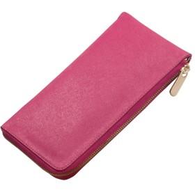 サンワイ商事 キュートなクラッチバッグL型ウォレット ピンク