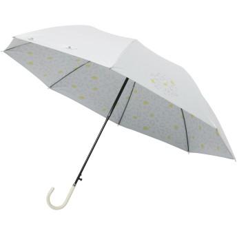 mabu 晴雨兼用 ジャンプ長傘 「 ヒートカット 」 ショートジャンプ スノーレオパード