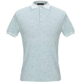 《期間限定セール開催中!》ZANONE メンズ ポロシャツ スカイブルー 46 コットン 100%