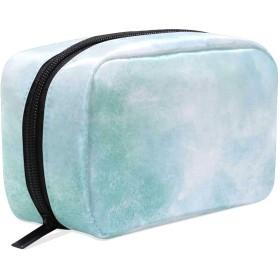 CW-Story ターコイズ ポーチ 旅行 化粧ポーチ 収納ポーチ 大容量 バスルームポーチ コスメポーチ 洗面道具
