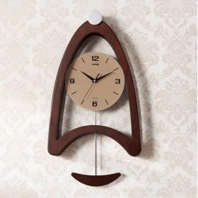 居間のための振り子が付いている無声壁時計の正確な掃引の動きの刻々と過ぎない時計 lixingmingqi (Color : B)