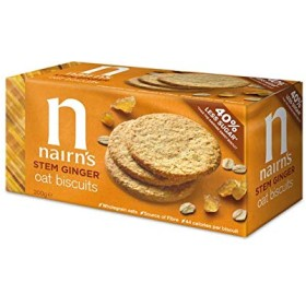 (3 PACK) - Nairns - Stem Ginger Wheat Free Biscuit   200g   3 PACK BUNDLE by Nairn's Oatcakes