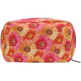 バララ (La Rose) 化粧ポーチ メイク 洗面用具入れ 大容量 軽量 おしゃれ 多機能 ひまわり 花柄 かわいい コスメポーチ 小物入れ 収納バッグ 女性 雑貨 プレゼント