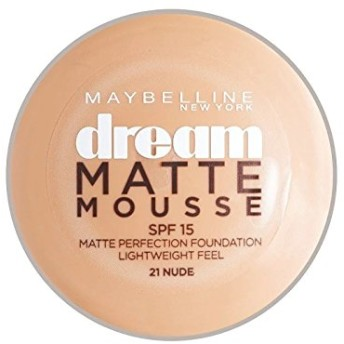 Maybelline Dream Matte Mousse Foundation 21 Nude 10ml - メイベリン夢マットムース土台21ヌード10ミリリットル [並行輸入品]