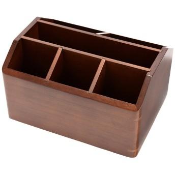 茶谷産業(Chatani) 収納ケース・ボックス ブラウン サイズ:高さ14×幅22×奥行16.5cm