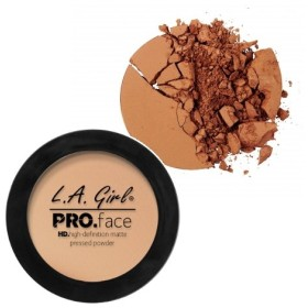 (3 Pack) L.A. GIRL PRO Face Powder - Toffee (並行輸入品)