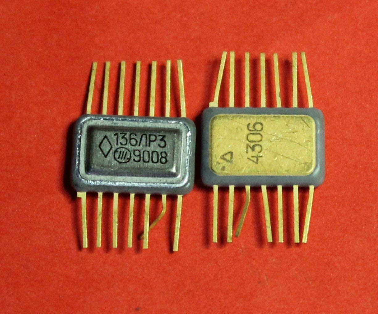 Microchip USSR  Lot of 2 pcs 597SA2B = Am686   IC