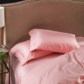 寮の枕、綿充填柔らかい快適な色の枕カバーは寝室のベッドサイドの枕を褪色させないで2ペア (Color : #10)