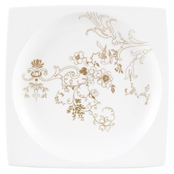 Paperproducts Design 28226 Fox Reflected Appetizer Plate 5.75 Brown