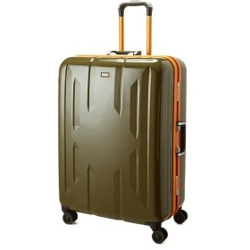 カバンのセレクション スーツケース Lサイズ エース ACE 90L フレームタイプ TSAロック Z.N.Y ゼット・エヌ・ワイ ラウビル 軽量 国内旅行 海外旅行 06382 ユニセックス カーキ フリー 【Bag & Luggage SELECTION】