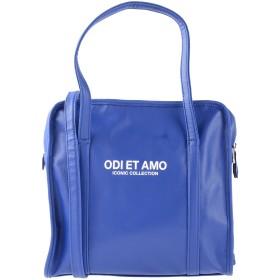 《期間限定セール開催中!》ODI ET AMO レディース ハンドバッグ ブルー 紡績繊維