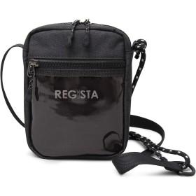REGiSTA レジスタ ミニ ショルダー バッグ クリアポケット ドローコード タウンユース スポーティー 軽量 ボックスロゴ 鞄 588
