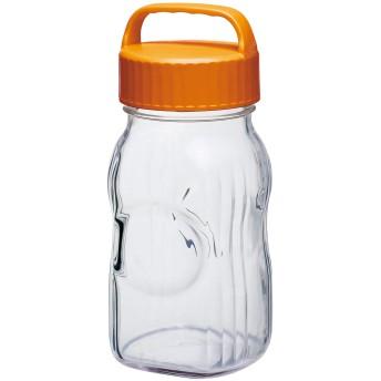 東洋佐々木ガラス 漬け上手 フルーツシロップびん  オレンジ 1500ml 日本製 食洗機対応 I-77860-OR-A-JAN-S
