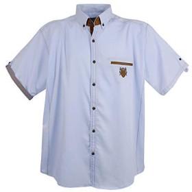 Lavecchia - カジュアルシャツ - メンズ - ブルー - XXXXXXXL