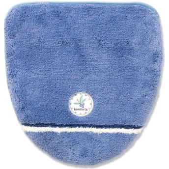 オカ トイレ フタカバー コムフォルタ4 洗浄暖房型 ブルー 吸着タイプ