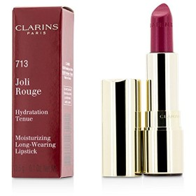 クラランス ジョリールージュ(ロングウェアリングモイスチャライジングリップスティック) - # 713 Hot Pink 3.5g/0.12oz並行輸入品