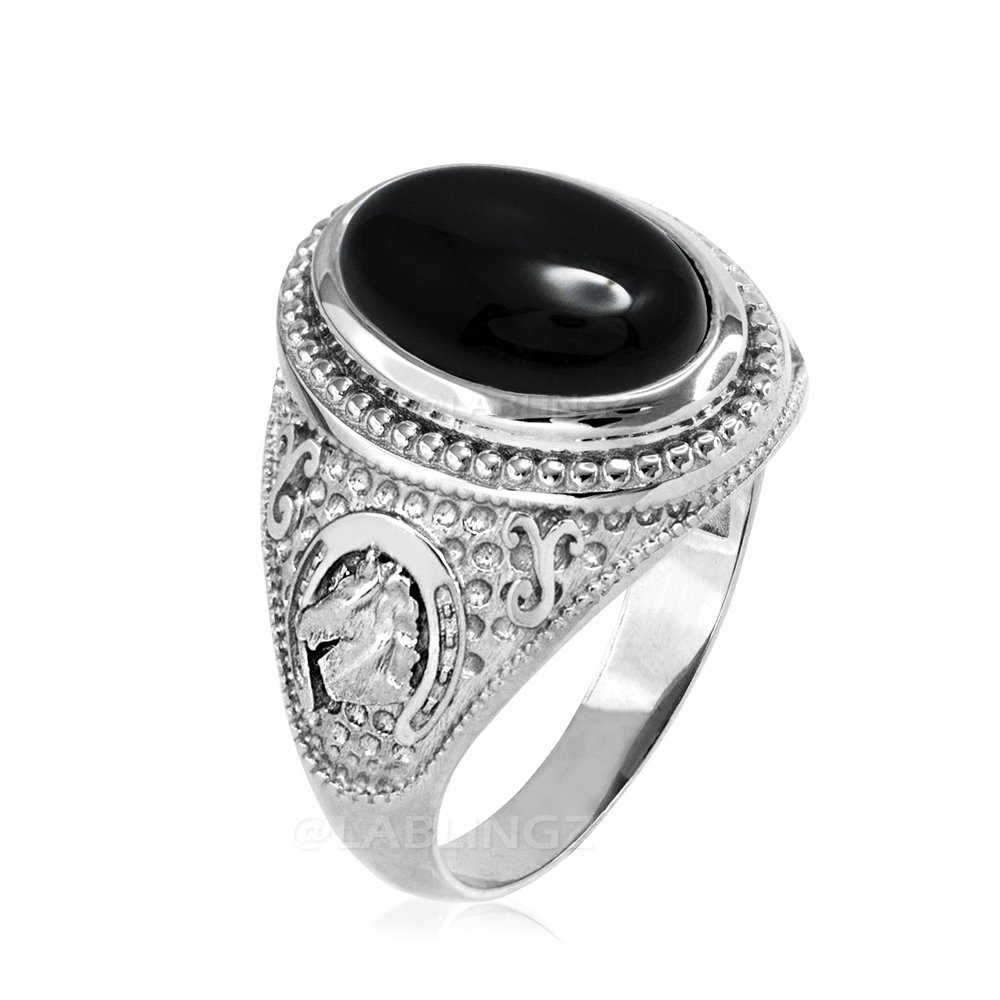 Beclgo Ring,Vintage Moonstone Stone Thai Silver Ring