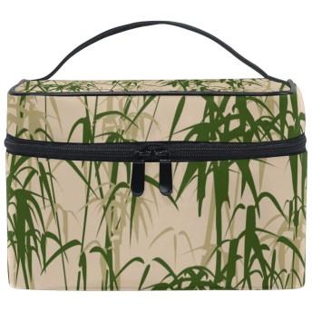 ユキオ(UKIO) メイクポーチ 大容量 シンプル かわいい 持ち運び 旅行 化粧ポーチ コスメバッグ 化粧品 竹林 詩人 レディース 収納ケース ポーチ 収納ボックス 化粧箱 メイクバッグ