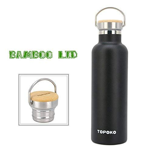 Double Walled Vacuum Insulated Travel Water Bottle Keep Hot and Cold Stainless Steel Leak Proof Cola Shape Sports Water Bottle aomigell 17 oz 500ml