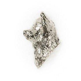 チワワ(ロング) イギリス製 アート ドッグ ピンバッジ コレクション