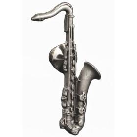 セルマーパリ マークVI テナーサックス (サキソフォン) ピンバッチ ピューター Selmer (Paris) Mark VI Tenor Saxophone Pin Pewter