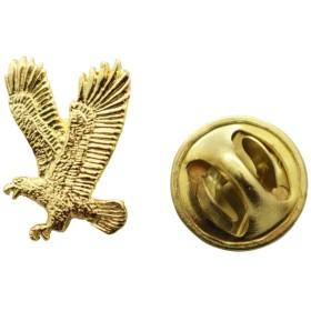 Flying Eagleミニピン~ 24Kゴールド~ミニチュアラペルピン~サラのTreats & Treasures
