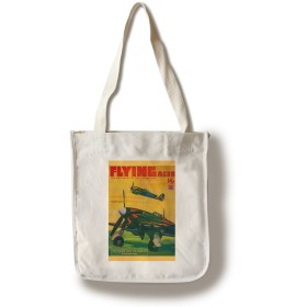 Flying Aces雑誌カバー Canvas Tote Bag LANT-2656-TT