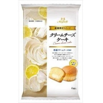 丸中製菓 クリームチーズケーキ 6個×6入(9月上旬頃入荷予定)