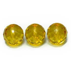 g3-38K 1粒 5A14mmカット 黄水晶 ゴールド シトリン ブラジル産 天然石 パワーストーン