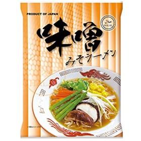 国産 ハラール(HALAL)ノンフライ麺インスタントラーメン(みそ味)X30食