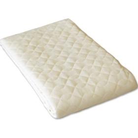 洗える 防水パイル 敷きパッド パッドシーツ セミシングルサイズ ジュニア 80×195cm ズレ防止ゴム付