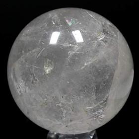【石流通センター】☆置石一点物☆【置き石】丸玉 水晶 約109mm No.18 天然石 パワーストーン