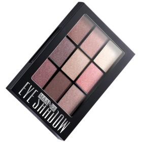 9色 パレットセット メイクアップ 日常カラー 目化粧用 アイシャドウ 全4種選べ - 多色3