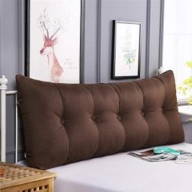 綿のベッドクッション、リムーバブルと洗える畳のソフトバッグダブルベッドのバックレスト (色 : G g, サイズ さいず : 80  60cm)