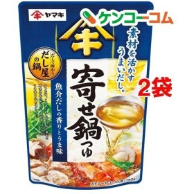 だしで味わう寄せ鍋つゆ ( 750g2袋セット )/ ヤマキ