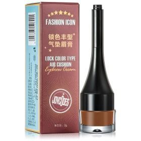 1つの眉毛のクリーム色のペンの粉に付き専門家3つの眉毛の化粧道具(02)